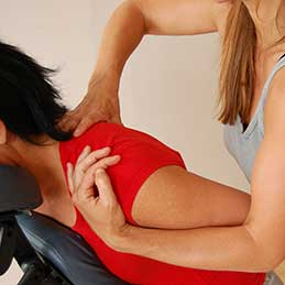 Quick Pick-Me-Up chair massage $20.00
