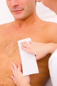 Men's Chest Wax